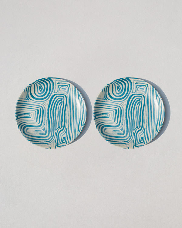 Tide Quarter Plate (Set of 2)