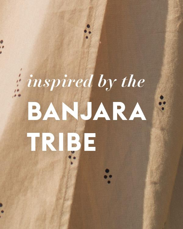 Inspired by the banajara tribe