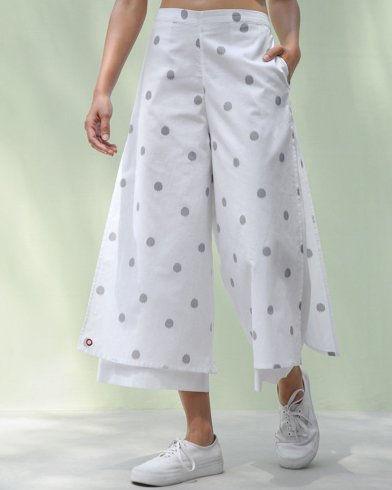Marshmallow Pants - Grey Ikat