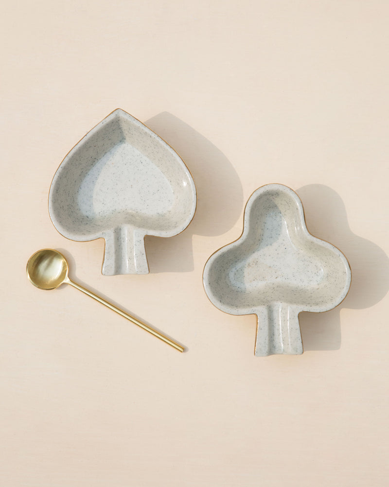 Spade & Club Dish (Set of 2)