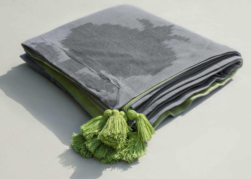 Anar Bedcover - Charcoal