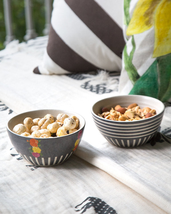 Rose Nut Bowls (Set of 2)