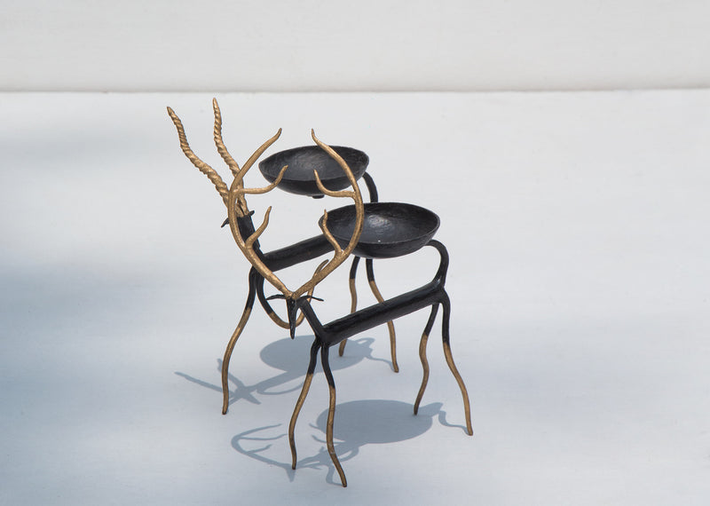 Black Buck Votive (Set of 2)