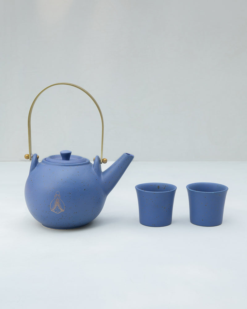 Teacup Set - Blue (Set of 2)