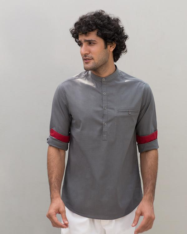 Pondicherry Shirt - Charcoal