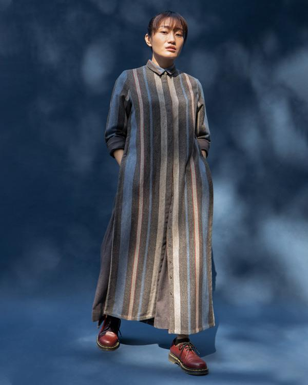 Many Moons Stripe Kurta