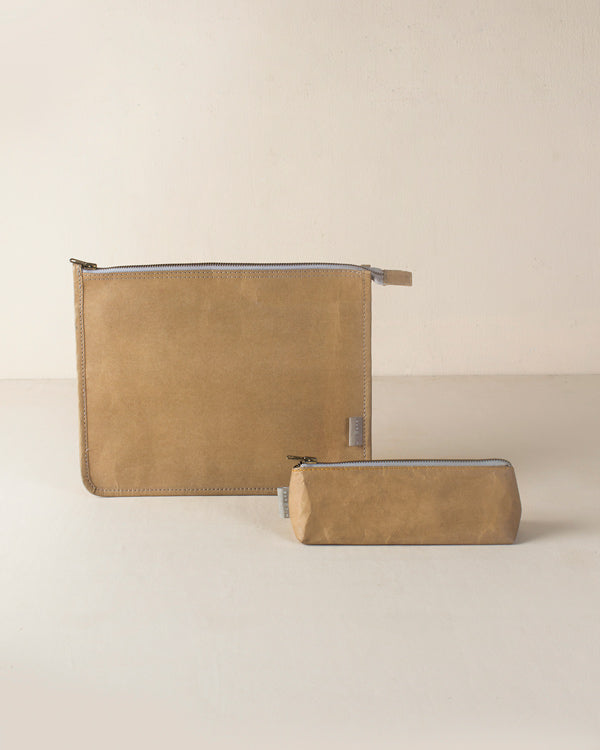 Planet First Paper Pouches - Brown