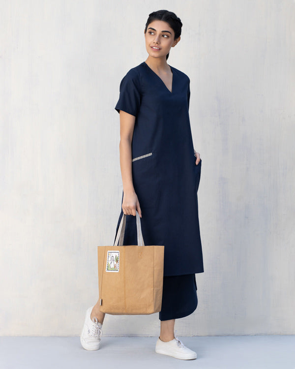 Camper Dress - Indigo