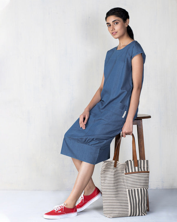 Shibui Dress - Blue