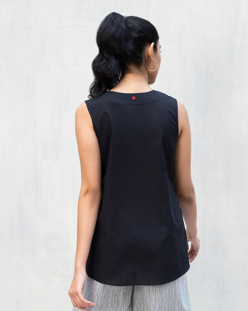 Rivet Top - Black
