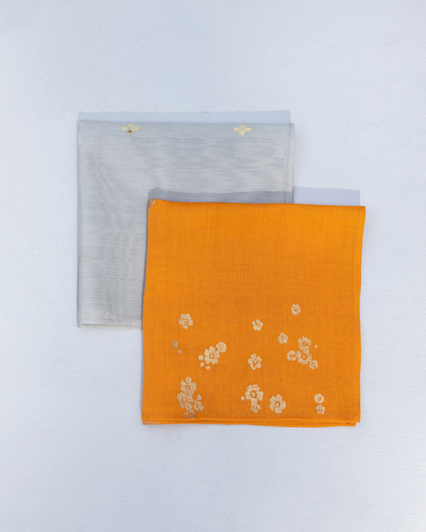Zahira Pocket Square (Set of 2)