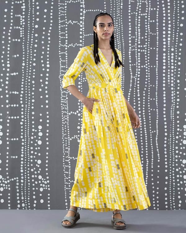 Nico Dress - Yellow