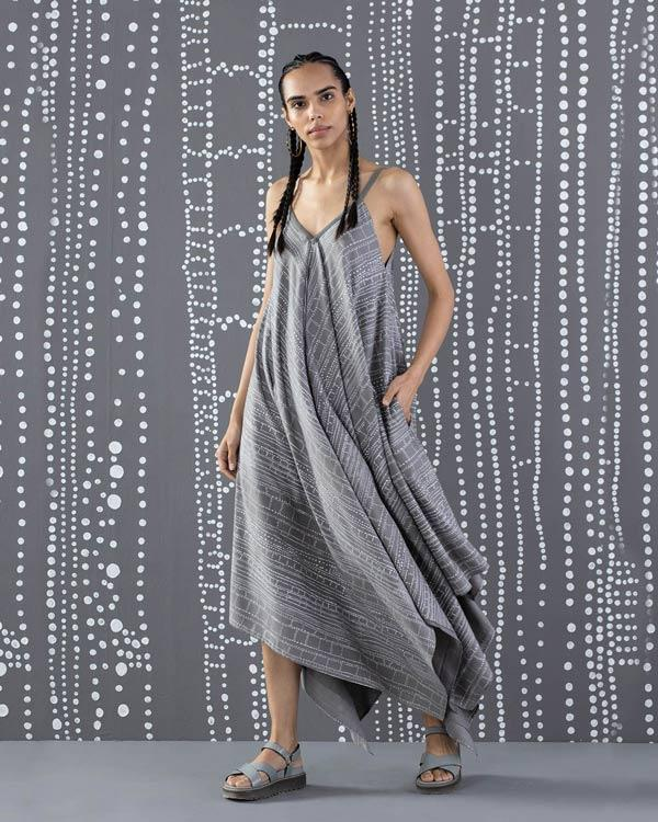 Handkerchief Dress - Grey