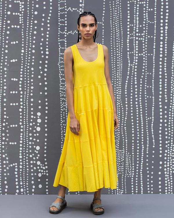 Daisy Dress - Yellow