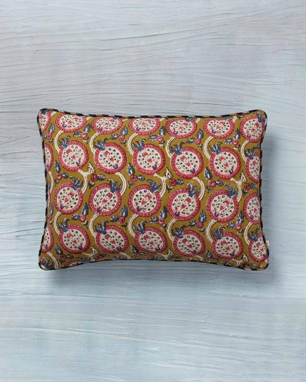 Pemba Lumbar Pillow - Yellow