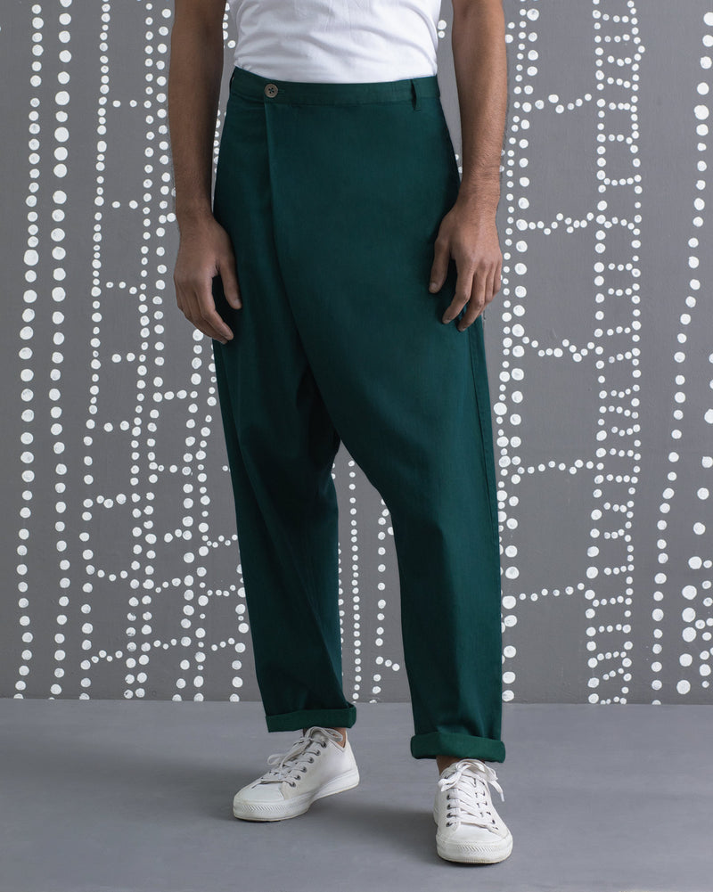 Slouchy Pants - Green