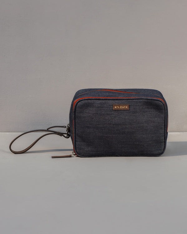 Oasis Toilet Case - Denim