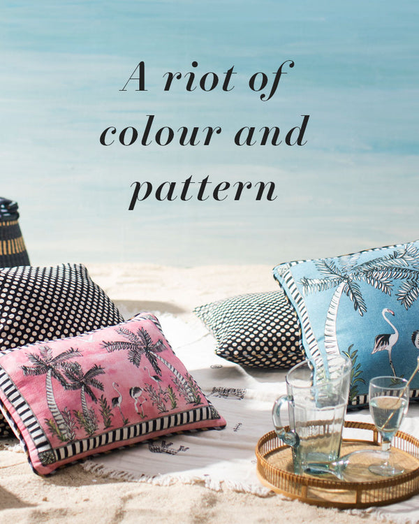 A Riot Of Color And Pattern