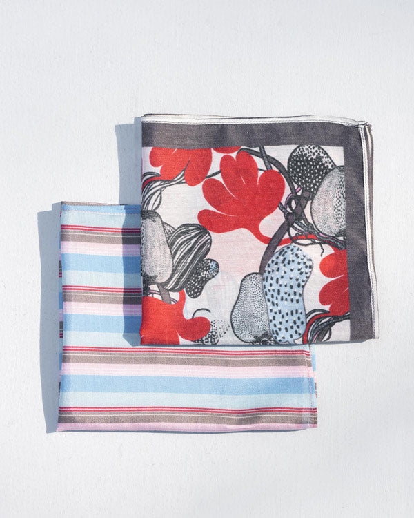 Zanzibar Pocket Square (Set of 2)