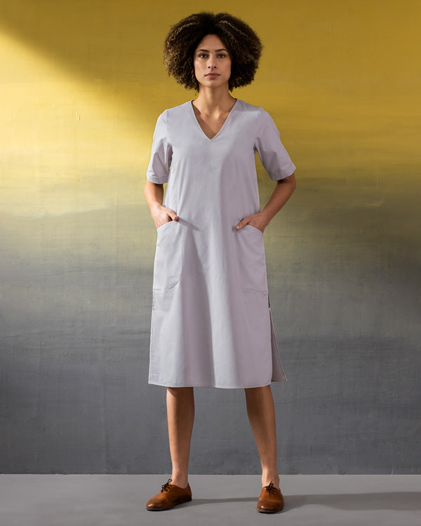 Camper Dress - Soft Grey