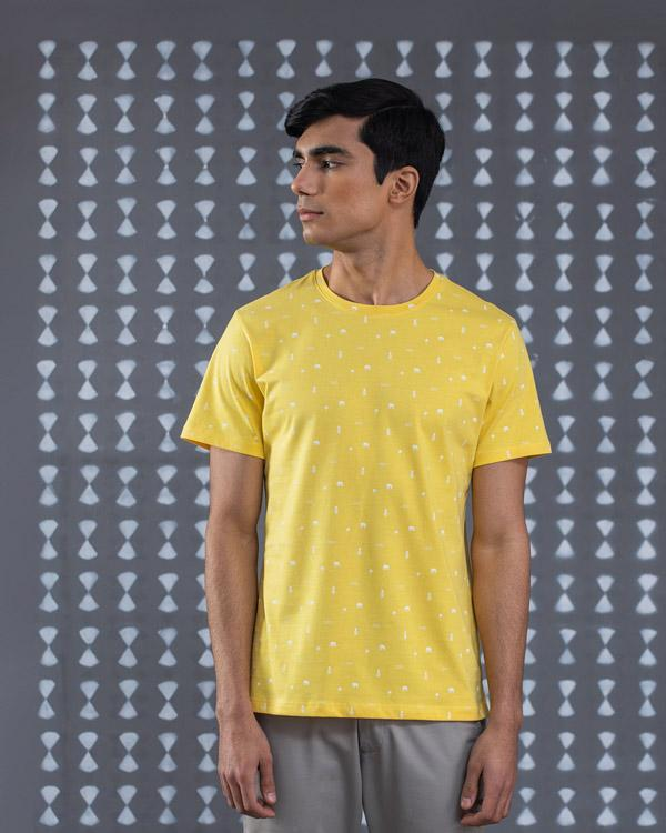 Nico Icon T-Shirt - Yellow