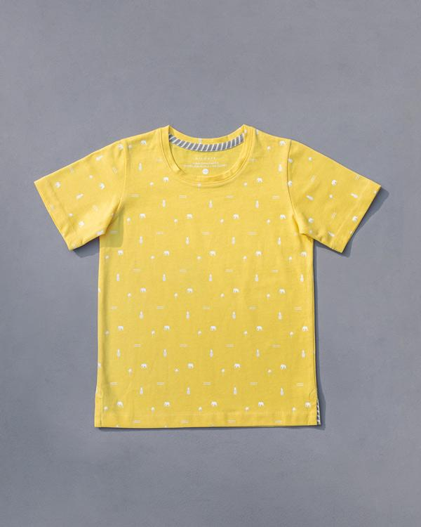 Little Icon T-Shirt - Yellow