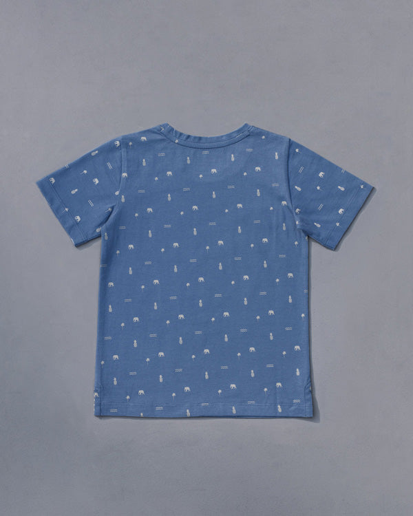 Little Icon T-Shirt - Blue