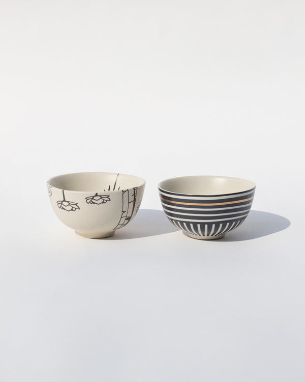 Pond Nut Bowls (Set of 2)
