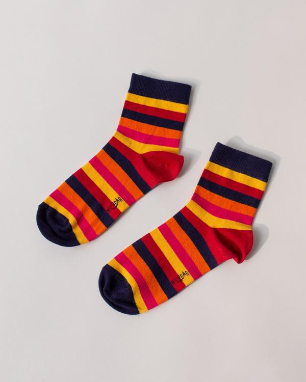 Pumpkin Stripe Socks