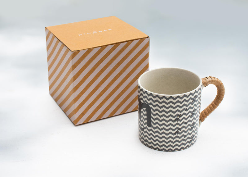 Camel Palm Straight Mug