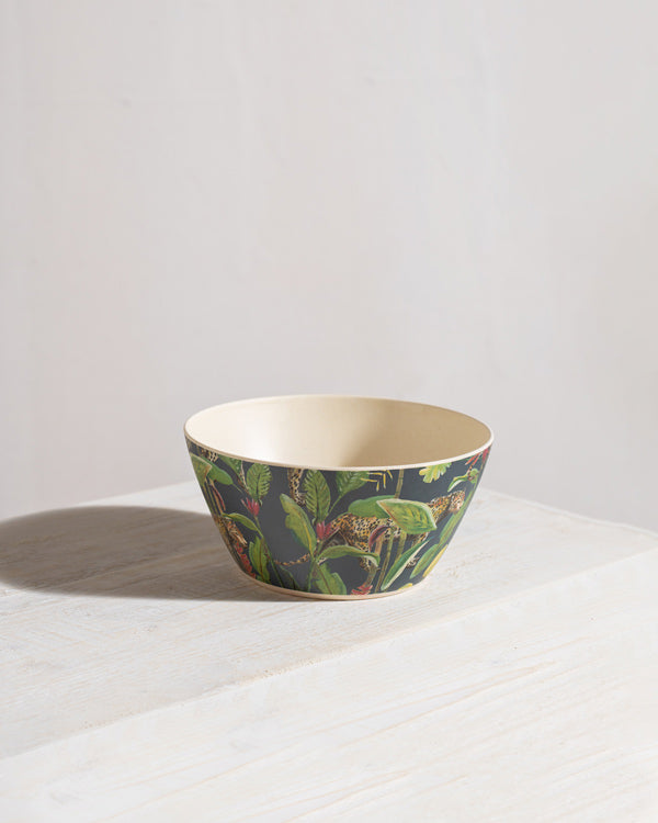 Midnight Jungle Cereal Bowl