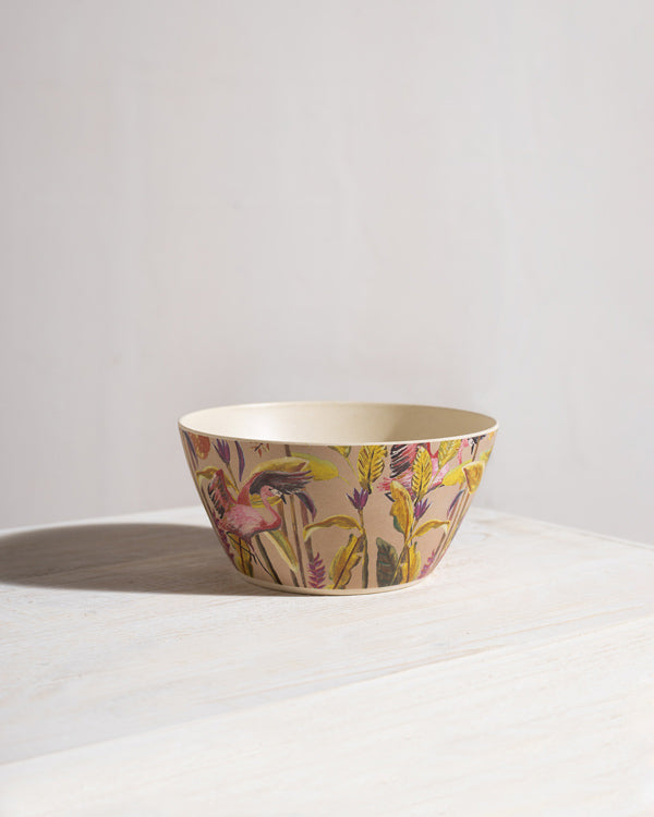 Flamingo Cereal Bowl