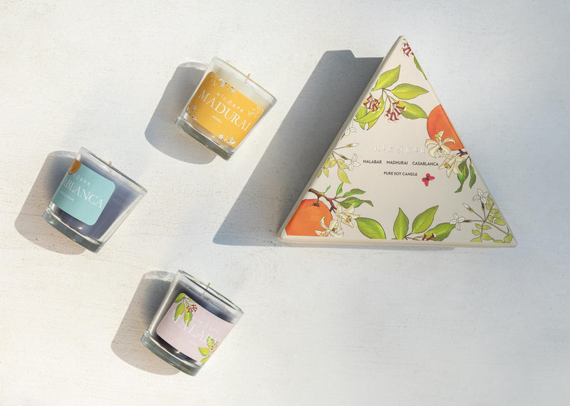 Trio Candle (Set of 3)
