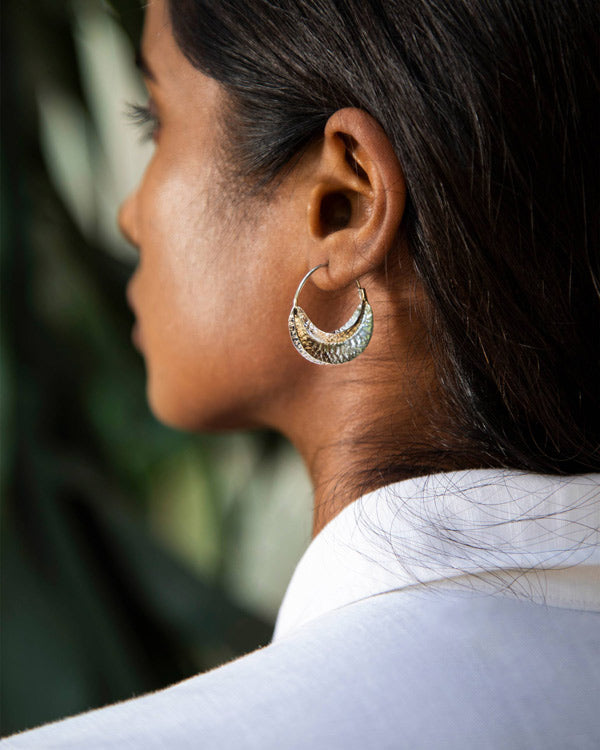 Mopti Silver Earrings