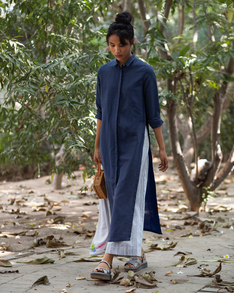 Many Moons Kurta - Indigo