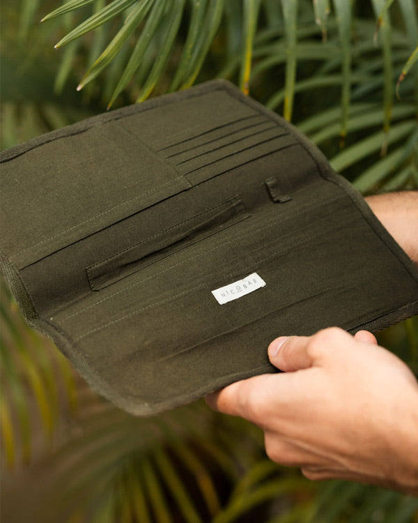 Shiro Passport Sleeve - Olive