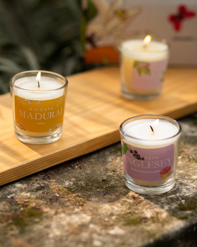 Jar Candles - Set of 5
