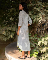 Pristine Long Stripe Dress