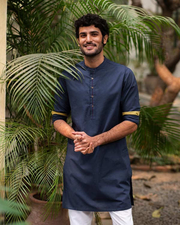 Chandni Chowk Kurta - Blue