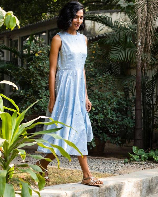 Everyday Sway Dress - Blue
