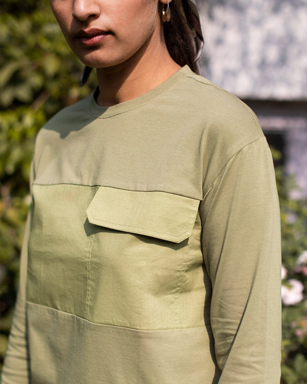 Panel Top - Light Olive
