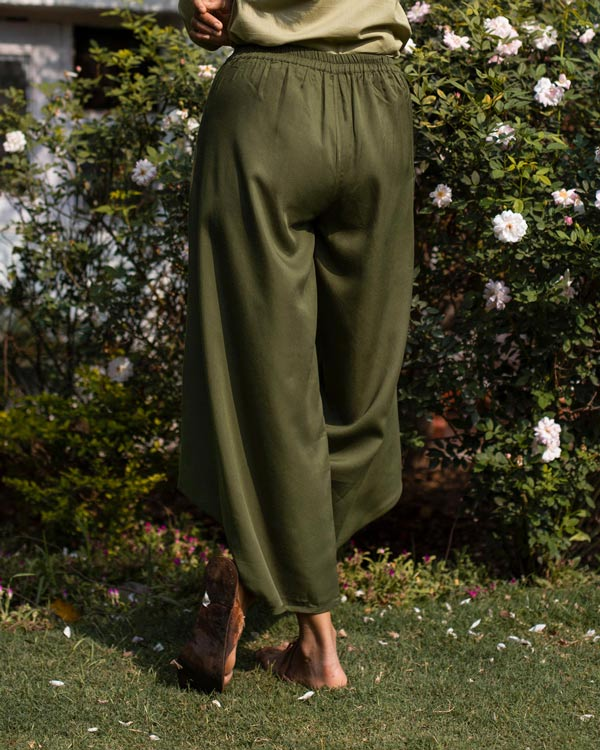 Big One Pocket Pants - Olive