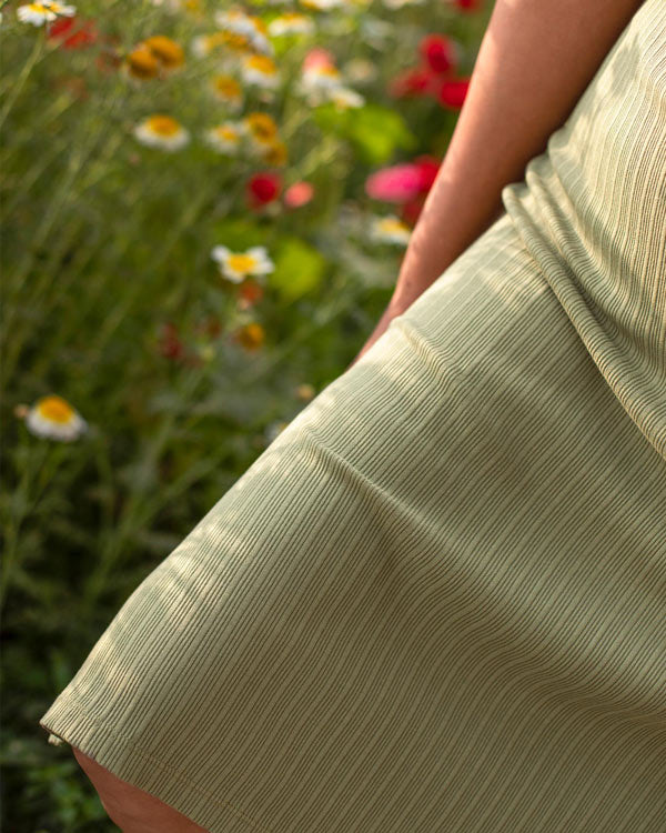 Jersey Maxi Dress - Light Olive