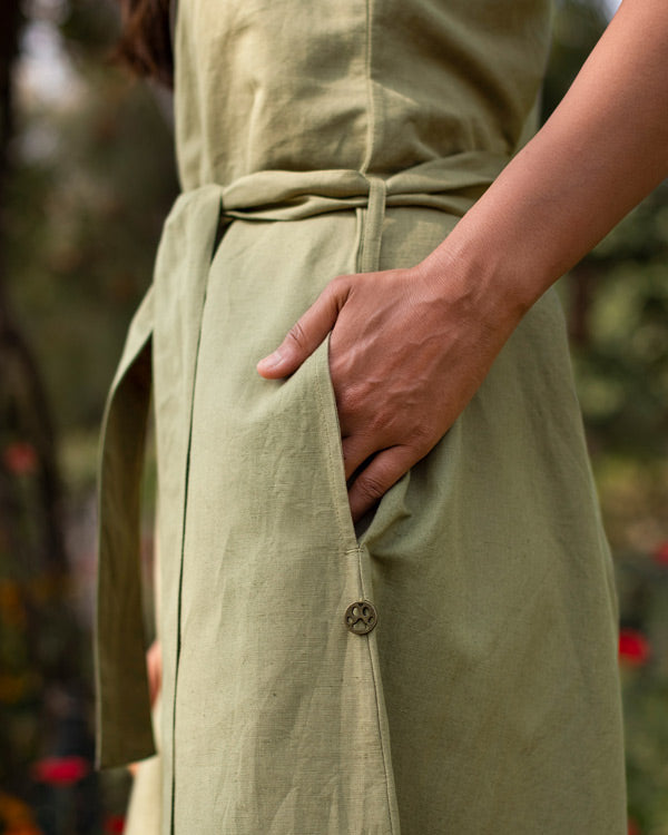 Terado Jumpsuit - Light Olive