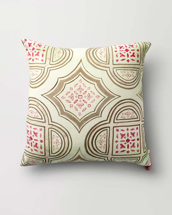 Octa Cushion - Jade