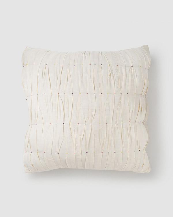 Tangier Textured Cushion - Ivory