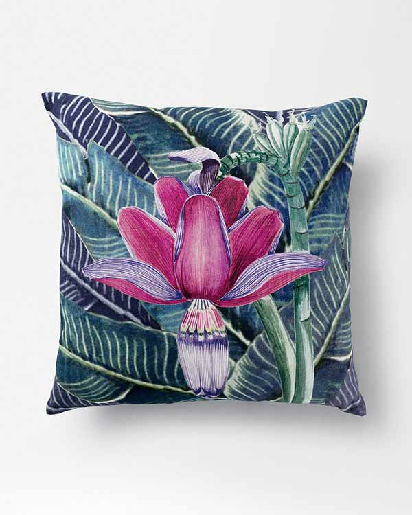 Banana Flower Cushion
