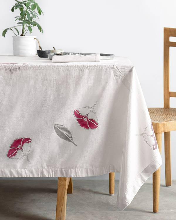 Frangipani Table Cloth