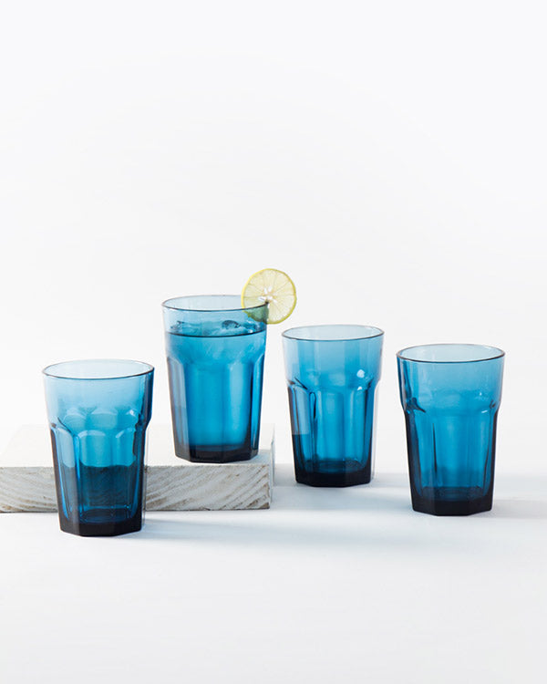 Anjuna Tumbler (Set of 4) - Indigo