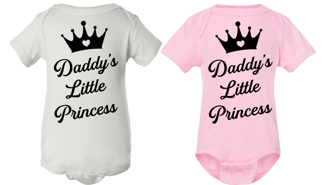 Daddy's Little Princess onesie